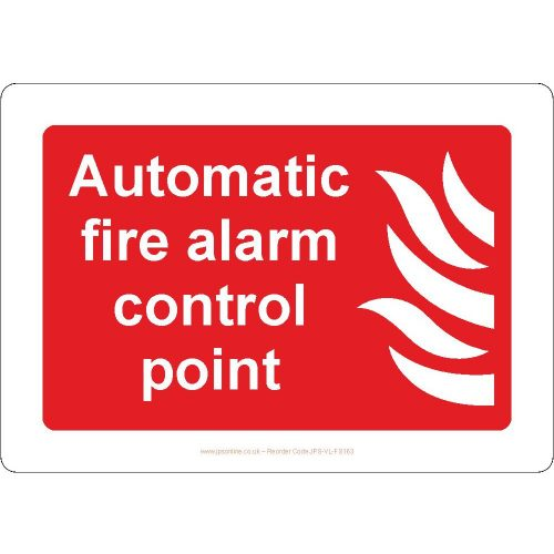 Automatic fire alarm control point
