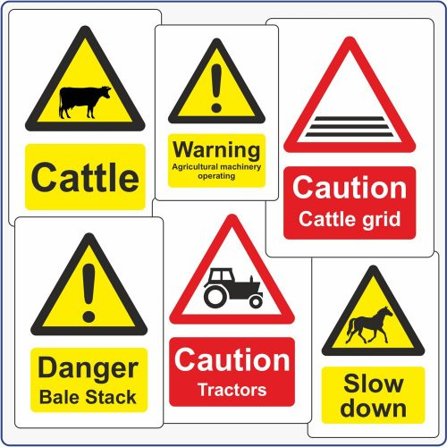 Agriculture Signs