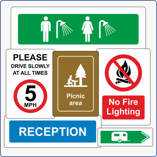 Camping & Leisure Signs