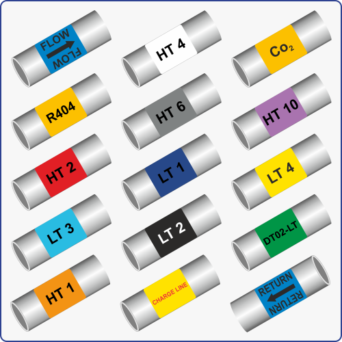 Pipe ID Labels