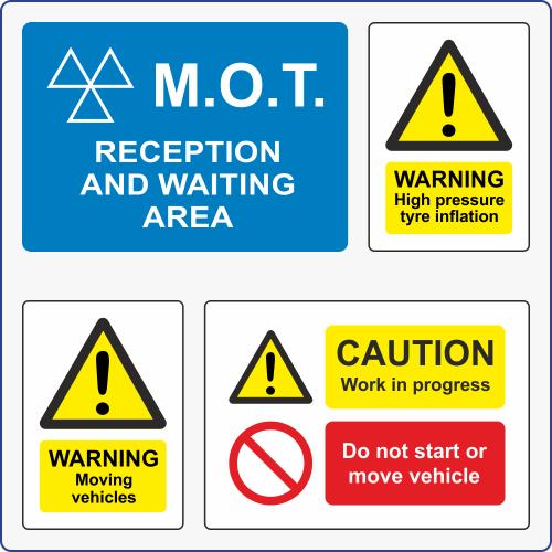 Garage & Workshop Signs